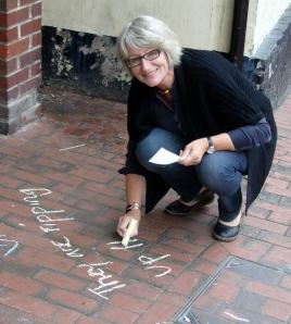 re:bourne festival Vicky Wilson poet