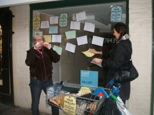 Vicky Wilson Gary Studley Poetry City Canterbury High Street