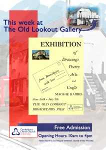 old look out gallery broadstairs maggie harris